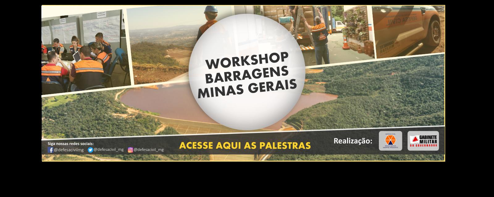 Palestras WorkShop Barragem 2019